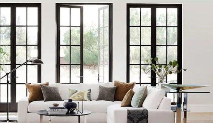 Thêm một số mẫu cửa nhôm kính thiết kế chia ô đẹp mắt cho bạn tham khảo
