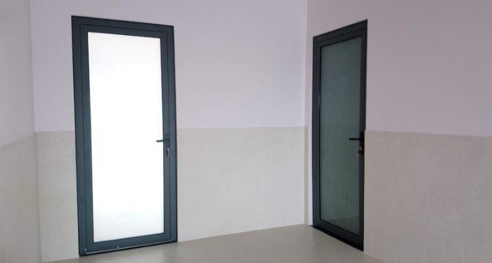 Cửa nhôm kính xingfa 1 cánh phòng ngủ mẫu 3