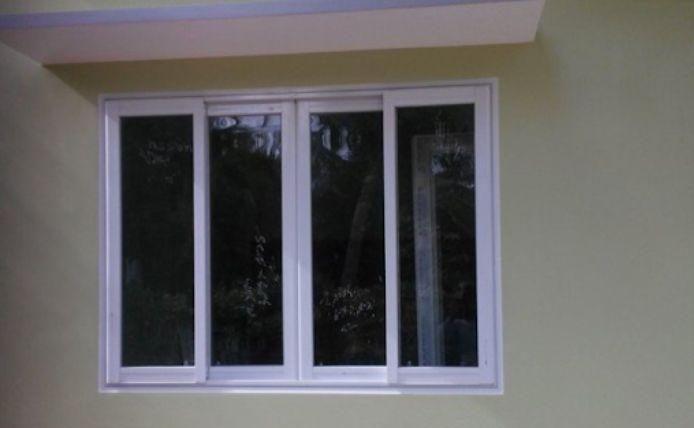 Cửa sổ mở lùa tiết kiệm được không gian rất tốt