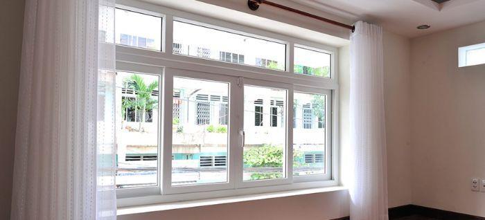 Mẫu cửa sổ nhôm kính mở trượt đẹp