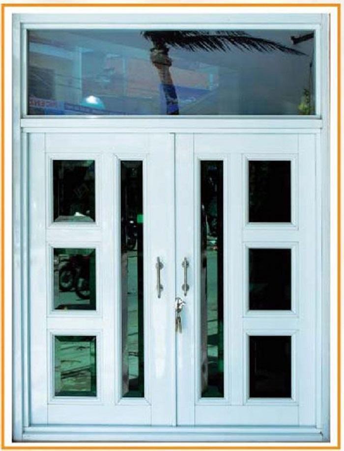 Mẫu cửa sổ nhôm kính 2 cánh - 5