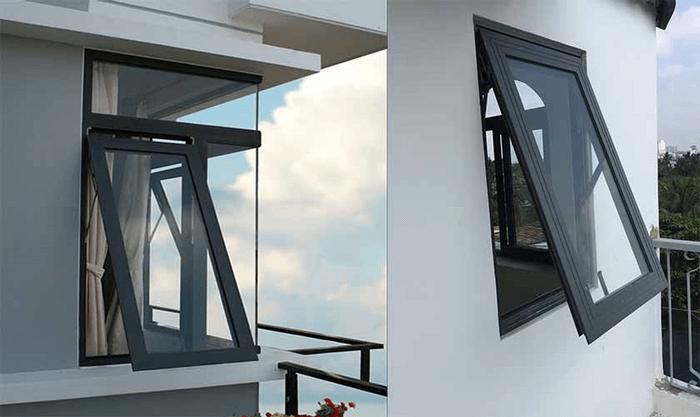 mẫu cửa sổ nhôm kính 1 cánh đẹp 8