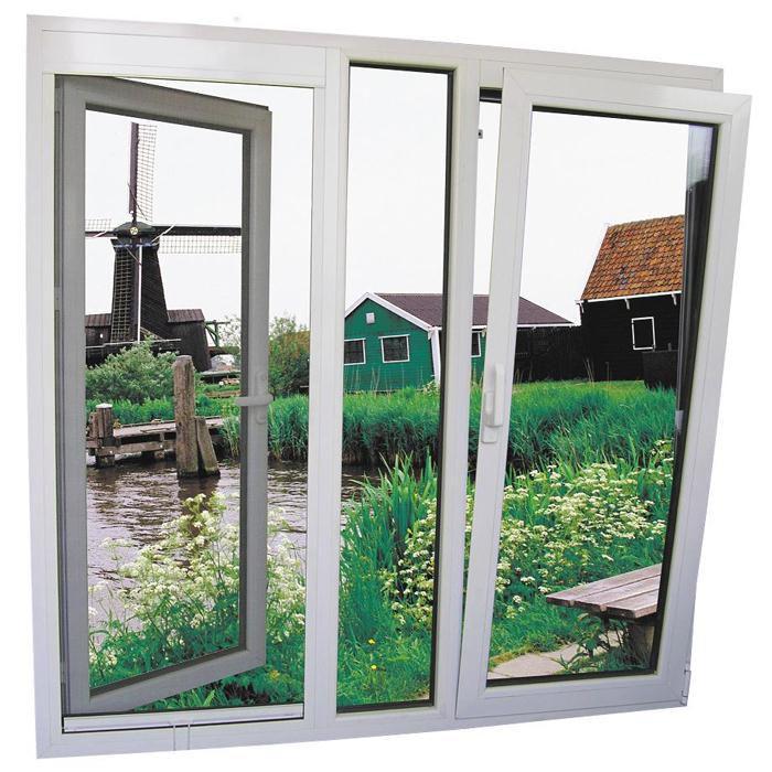 Mẫu cửa sổ nhôm kính mở hất - 9