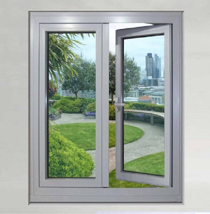 Mẫu cửa sổ nhôm kính mở quay - 8