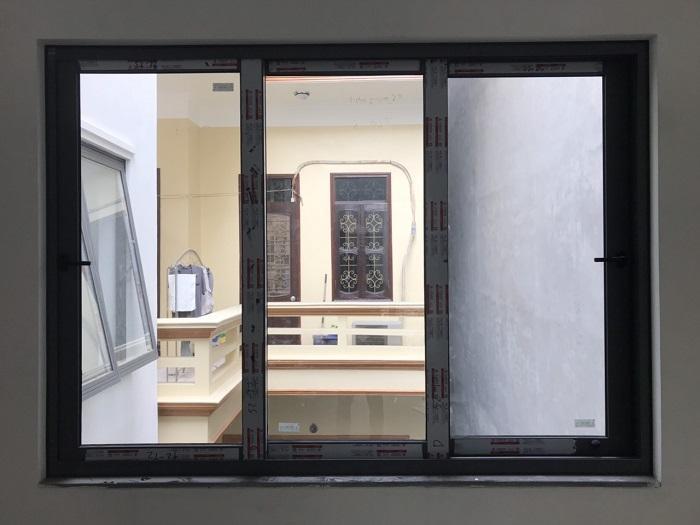 Mẫu cửa sổ nhôm kính trượt, lùa - 5