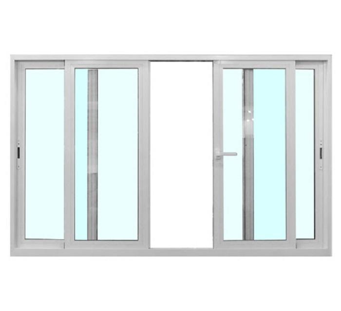 Mẫu cửa sổ nhôm kính trượt, lùa - 1