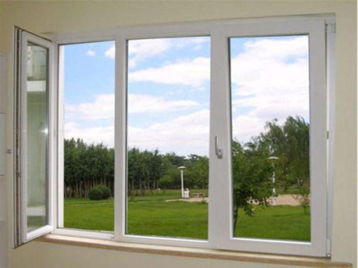 Cửa sổ nhôm kính sơn tĩnh điện sẽ có lớp sơn đều màu trong một thời gian dài