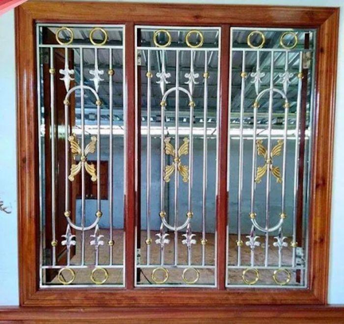 Có 2 cách để phân loại cửa sổ bằng sắt