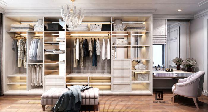 Giá thành của một chiếc tủ nhôm kính đựng quần áo rất phải chăng