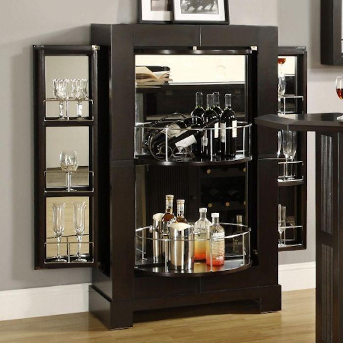 Tủ rượu nhôm kính có thiết kế mới lạ độc đáo