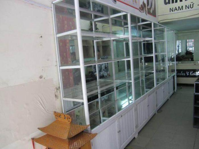 Tủ thuốc tây nhôm kính màu trắng mẫu 2