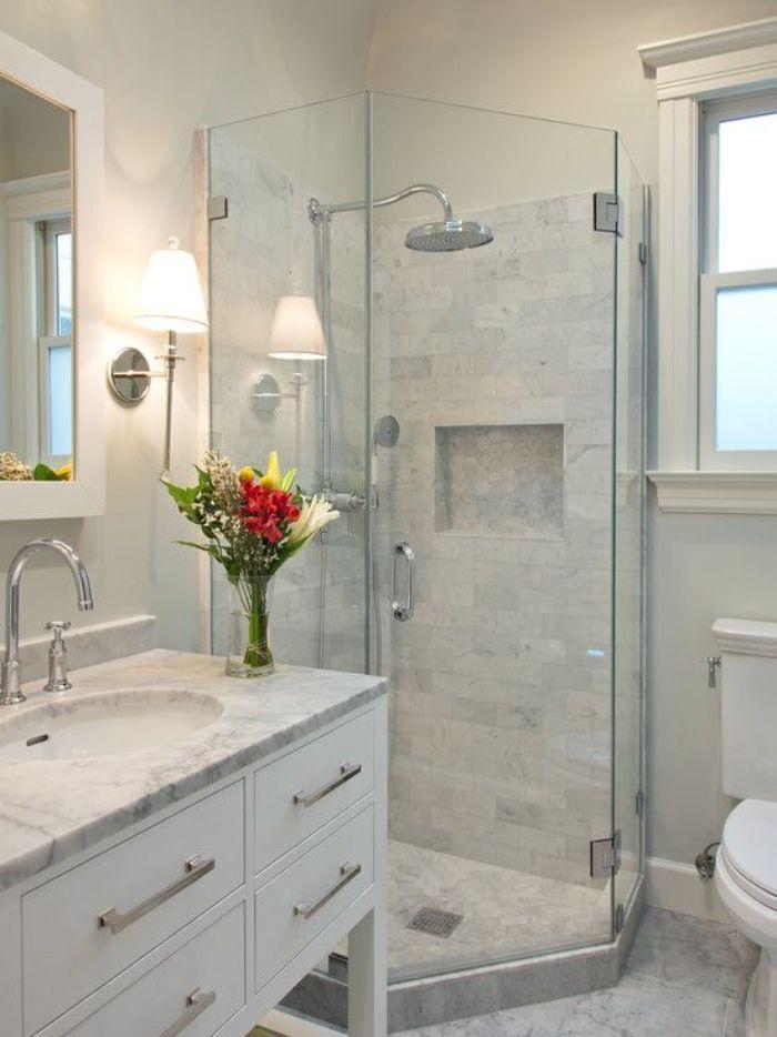 Phòng tắm kính 135 độ có thiết kế khá là mới lạ