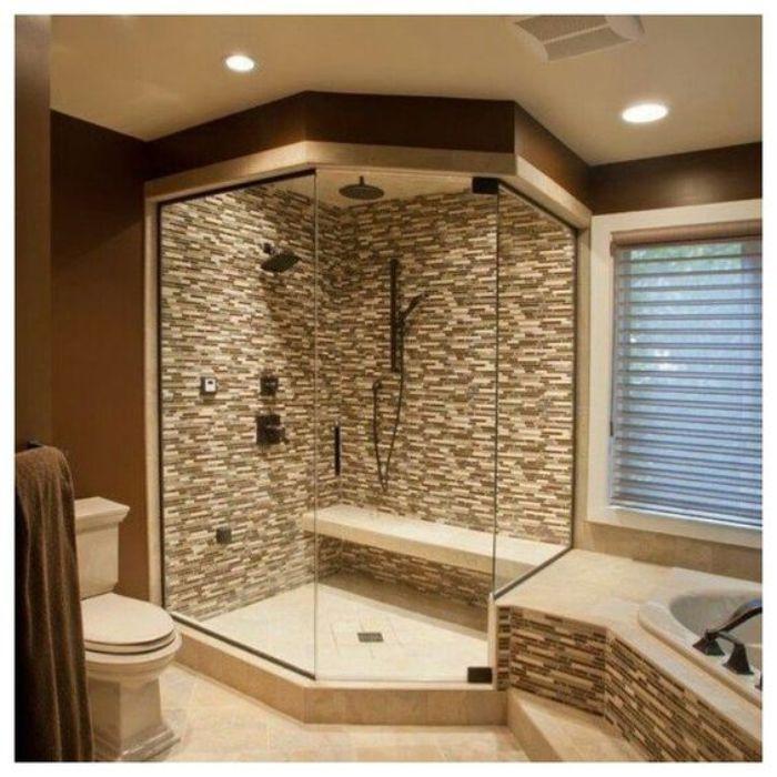 Phòng tắm kính 135 độ vát góc