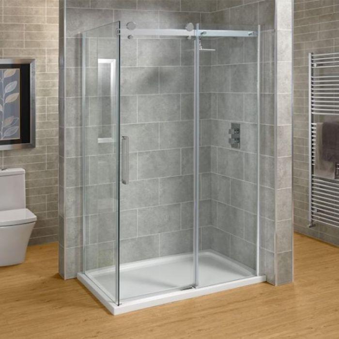 Mẫu phòng tắm kính có thể phù hợp với nhiều không gian khác nhau