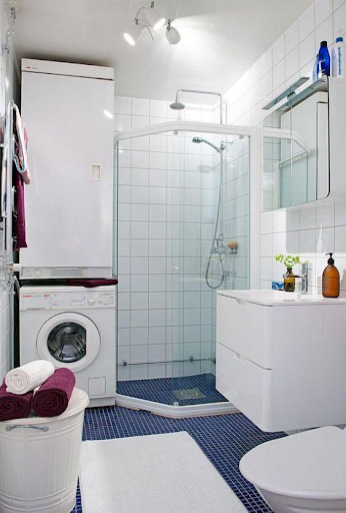 Phòng tắm kính đứng vát góc tiện nghi