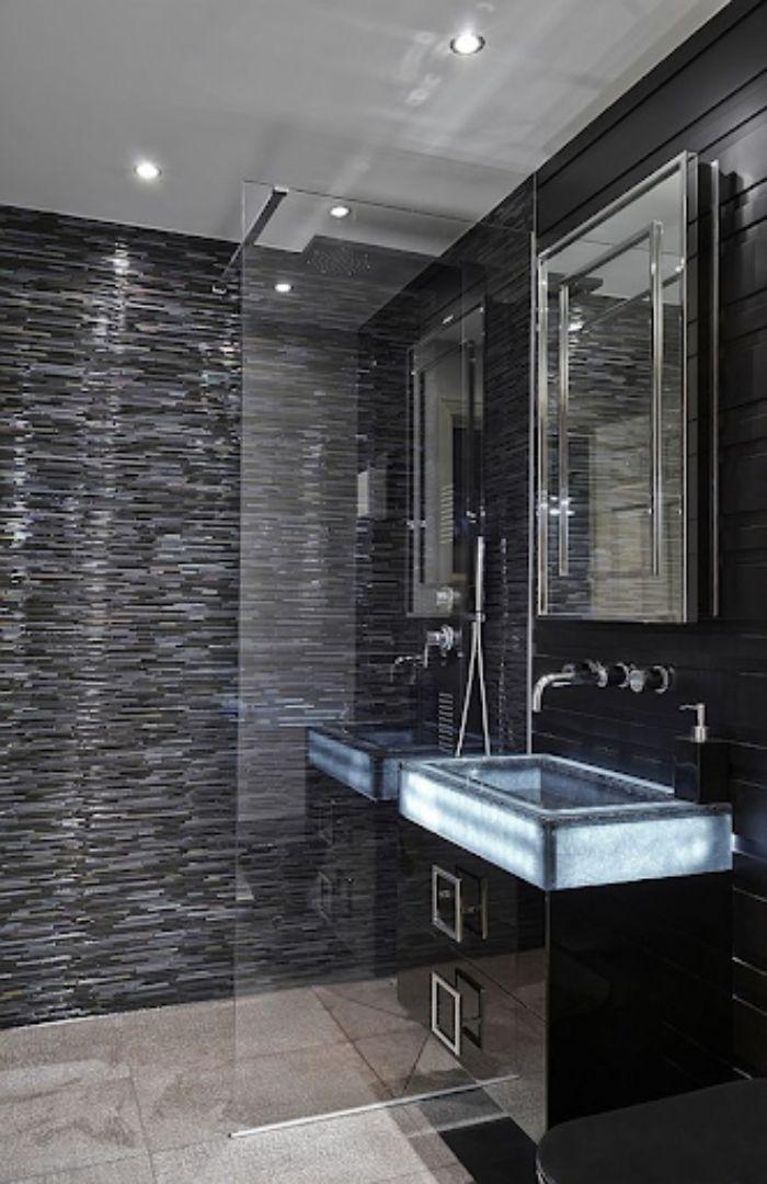 Phòng tắm kính đứng cửa lùa cao cấp