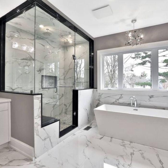 mẫu phòng tắm kính fendi