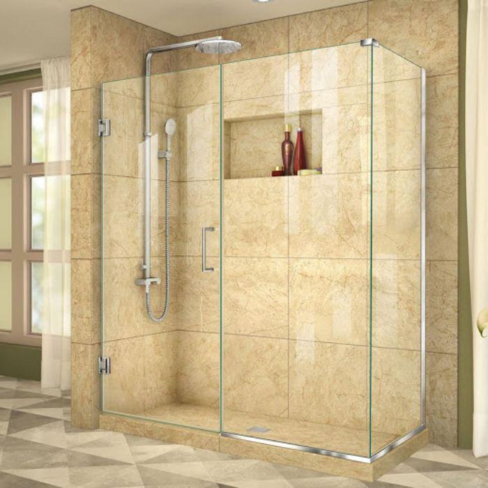 Phòng tắm kính cửa lùa sẽ phù hợp với ngôi nhà mang phong cách hiện đại
