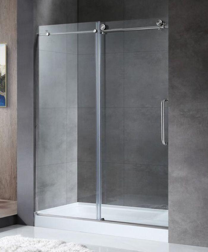 Phòng tắm kính lùa có độ bền cao