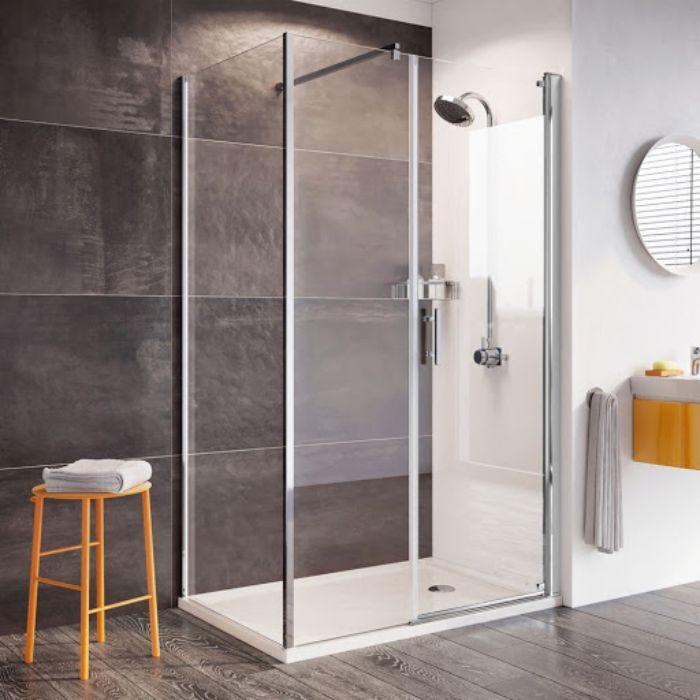Phòng tắm kính lùa về lâu dài sẽ bị hỏng đường ray trượt