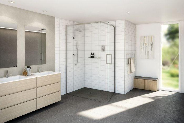 35+ mẫu phòng tắm kính lùa hiện đại, tiện nghi tại TPHCM