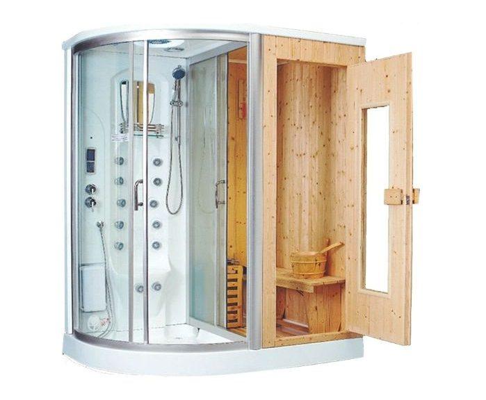 Phòng tắm xông hơi được sử dụng để thư giãn
