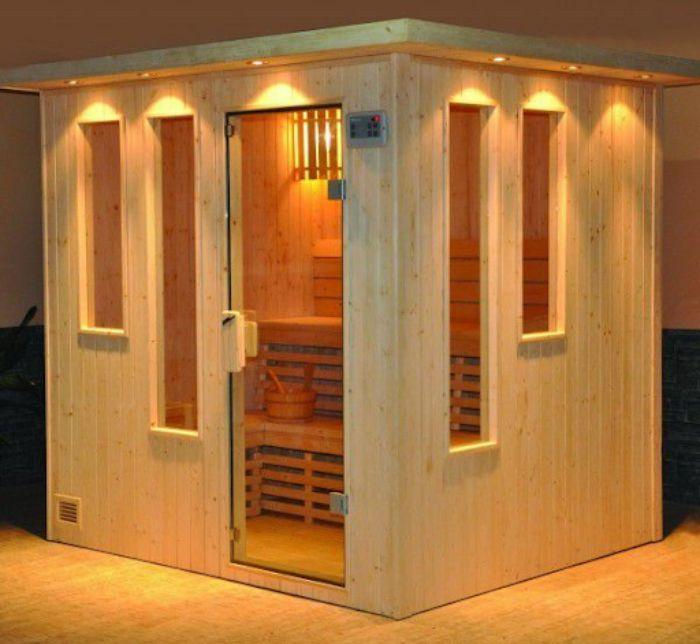 Phòng tắm xông hơi tại nhà có thiết kế đẹp