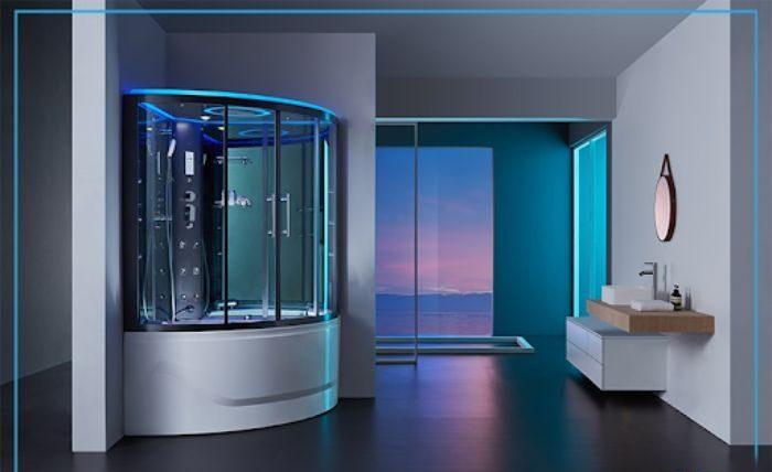 Phòng tắm xông hơi tại nhà có thiết kế cao cấp