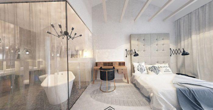 Top 25+ mẫu vách tắm kính phòng ngủ tiện ích bền đẹp 2021