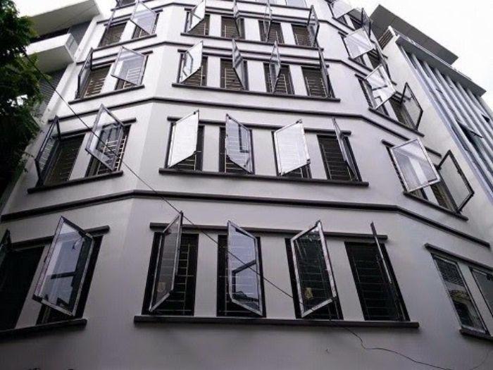 Dòng nhôm Xf hệ 55 được nhiều công trình lựa chọn để thiết kế các mẫu cửa sổ