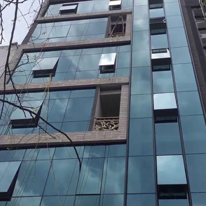Vách dựng giấu đố nhôm Xingfa hệ 65 cho các tòa nhà cao tầng