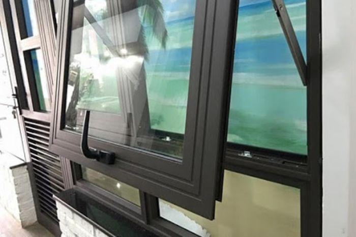 Cửa sổ mở hất nhôm Xingfa 55