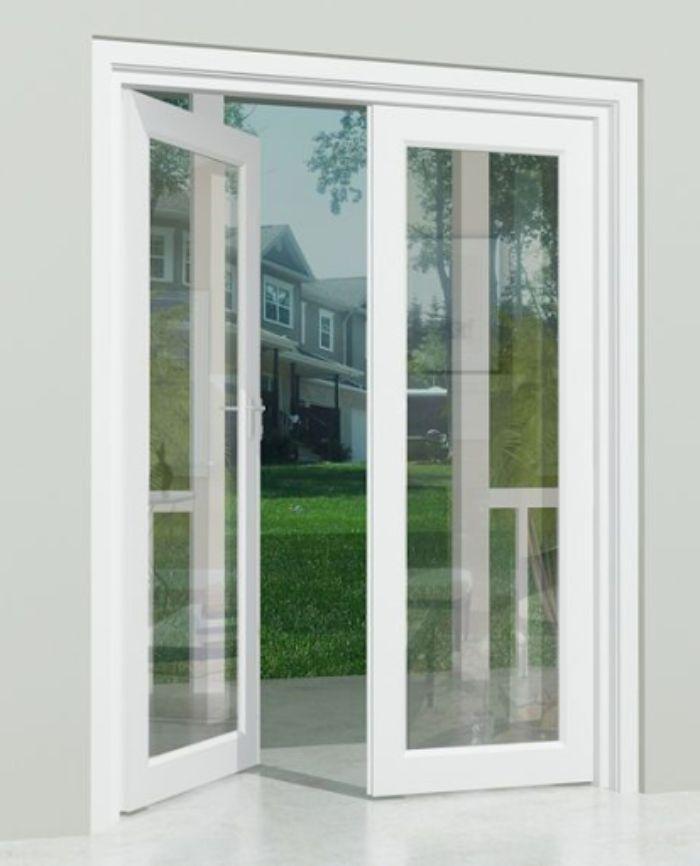 Kích thước cửa đi nhôm kính 2 cánh phải phù hợp với phong thủy và thẩm mỹ