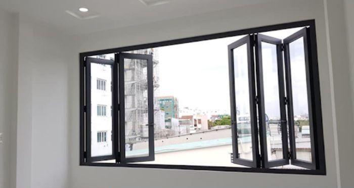 Cửa sổ nhôm kính 6 cánh
