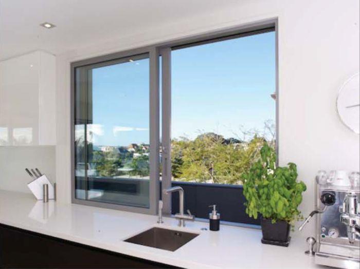 Kích thước cửa sổ nhôm kính lùa 2 cánh hiện đại nhất