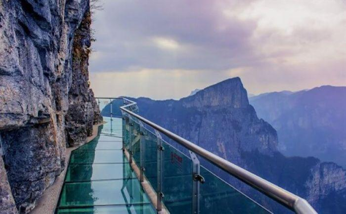 Cầu kính Rồng Mây tại Lai Châu