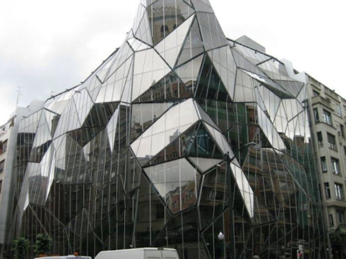 Công trình kiến trúc bằng kính: Sở Y tế Basque, Bilbao – Tây Ban Nha