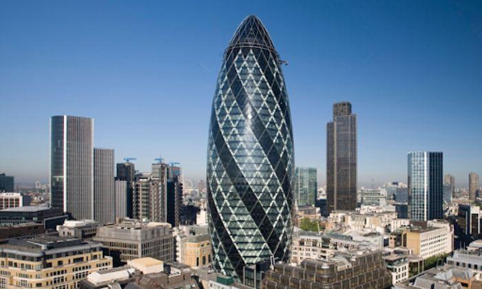 St. Mary Axe - Tòa nhà chọc trời thứ hai ở Luân Đôn